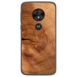 Funda Gel Tpu para Motorola Moto G7 Play diseño Madera 04 Dibujos