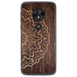 Funda Gel Tpu para Motorola Moto G7 Play diseño Madera 06 Dibujos