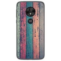 Funda Gel Tpu para Motorola Moto G7 Play diseño Madera 10 Dibujos
