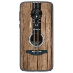 Funda Gel Tpu para Motorola Moto G7 Play diseño Madera 11 Dibujos