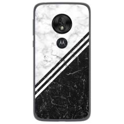 Funda Gel Tpu para Motorola Moto G7 Play diseño Mármol 01 Dibujos