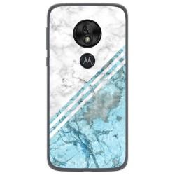 Funda Gel Tpu para Motorola Moto G7 Play diseño Mármol 02 Dibujos
