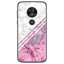 Funda Gel Tpu para Motorola Moto G7 Play diseño Mármol 03 Dibujos
