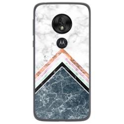 Funda Gel Tpu para Motorola Moto G7 Play diseño Mármol 05 Dibujos