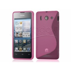Funda Gel Tpu Huawei Ascend Y300 S Line Color Rosa