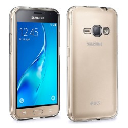 Funda Gel Tpu Fina Ultra-Thin 0,3mm Transparente para Samsung Galaxy J1 (2016)