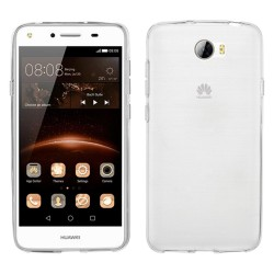 Funda Gel Tpu Fina Ultra-Thin 0,3mm Transparente para Huawei Y5 II / Y6 II Compact
