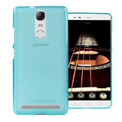 Funda Gel Tpu Lenovo K5 Note Color Azul