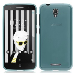 Funda Gel Tpu Alcatel Pop 4+ Plus Color Azul