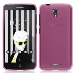 Funda Gel Tpu Alcatel Pop 4 Color Rosa