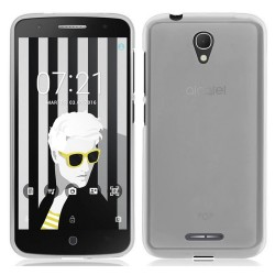 Funda Gel Tpu Alcatel Pop 4 Color Transparente
