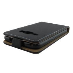 Funda Piel Premium Ultra-Slim Samsung Galaxy J1 (2016) Negra