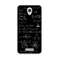 Funda Gel Tpu para Alcatel Pop 4+ Plus Diseño Formulas Dibujos