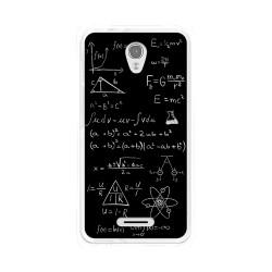 Funda Gel Tpu para Alcatel Pop 4 Diseño Formulas Dibujos