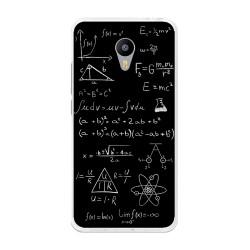 "Funda Gel Tpu para Meizu M3 Note 5.5"" Diseño Formulas Dibujos"