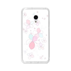 "Funda Gel Tpu para Meizu M3 Mini / M3S 5"" Diseño Flores-Minimal Dibujos"