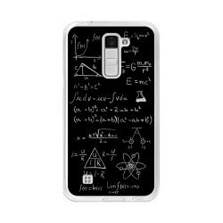 Funda Gel Tpu para Lg K10 Diseño Formulas Dibujos