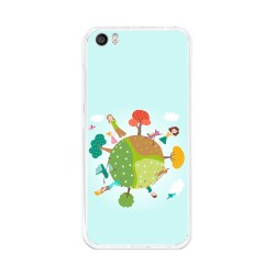 Funda Gel Tpu para Xiaomi Mi5 / Mi5 Pro Diseño Familia Dibujos