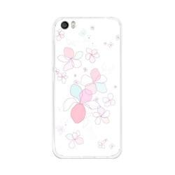 Funda Gel Tpu para Xiaomi Mi5 / Mi5 Pro Diseño Flores-Minimal  Dibujos