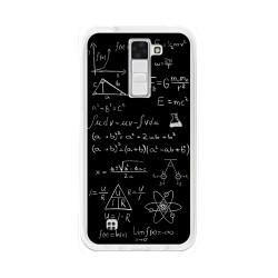 Funda Gel Tpu para Lg K8 Diseño Formulas Dibujos