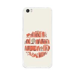 Funda Gel Tpu para Xiaomi Mi5 / Mi5 Pro Diseño Mundo-Libro Dibujos