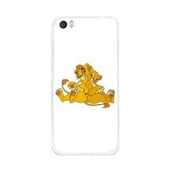 Funda Gel Tpu para Xiaomi Mi5 / Mi5 Pro Diseño Leones Dibujos