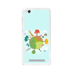 Funda Gel Tpu para Xiaomi Redmi 3 Diseño Familia Dibujos