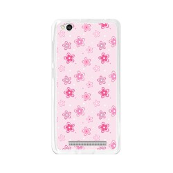 Funda Gel Tpu para Xiaomi Redmi 3 Diseño Flores Dibujos