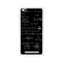 Funda Gel Tpu para Xiaomi Redmi 3 Diseño Formulas Dibujos