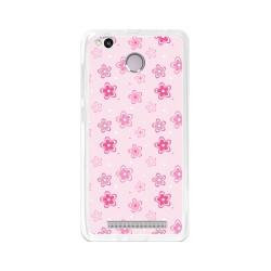 Funda Gel Tpu para Xiaomi Redmi 3S / 3x / 3 Pro Diseño Flores Dibujos