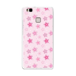 Funda Gel Tpu para Huawei P9 Lite Diseño Flores Dibujos