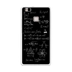 Funda Gel Tpu para Huawei P9 Lite Diseño Formulas Dibujos