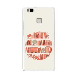 Funda Gel Tpu para Huawei P9 Lite Diseño Mundo-Libro Dibujos