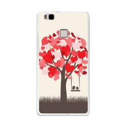 Funda Gel Tpu para Huawei P9 Lite Diseño Pajaritos Dibujos