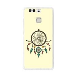 Funda Gel Tpu para Huawei P9  Diseño Atrapasueños Dibujos