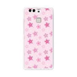 Funda Gel Tpu para Huawei P9  Diseño Flores Dibujos Dibujos