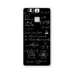 Funda Gel Tpu para Huawei P9  Diseño Formulas Dibujos