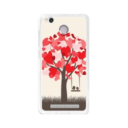 Funda Gel Tpu para Xiaomi Redmi 3S / 3x / 3 Pro Diseño Pajaritos  Dibujos