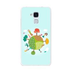 Funda Gel Tpu para Huawei Honor 5C / Gt3 Diseño Familia Dibujos