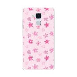 Funda Gel Tpu para Huawei Honor 5C / Gt3 Diseño Flores Dibujos