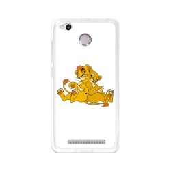 Funda Gel Tpu para Xiaomi Redmi 3S / 3x / 3 Pro Diseño Leones Dibujos