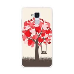 Funda Gel Tpu para Huawei Honor 5C / Gt3 Diseño Pajaritos Dibujos