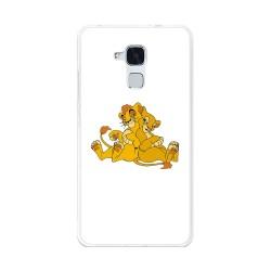 Funda Gel Tpu para Huawei Honor 5C / Gt3 Diseño Leones Dibujos