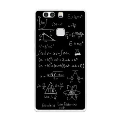 Funda Gel Tpu para Huawei P9 Plus Diseño Formulas Dibujos