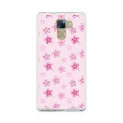 Funda Gel Tpu para Huawei Honor 7 Diseño Flores Dibujos