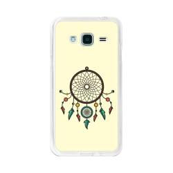 Funda Gel Tpu para Samsung Galaxy J3 (2016) Diseño Atrapasueños Dibujos