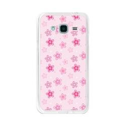 Funda Gel Tpu para Samsung Galaxy J3  (2016) Diseño Flores Dibujos
