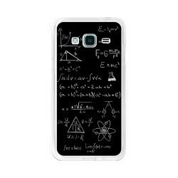 Funda Gel Tpu para Samsung Galaxy J3  (2016) Diseño Formulas Dibujos