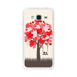 Funda Gel Tpu para Samsung Galaxy J3  (2016) Diseño Pajaritos Dibujos