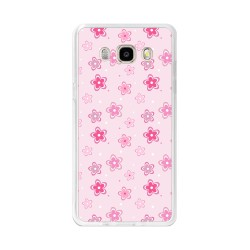 Funda Gel Tpu para Samsung Galaxy J5  (2016) Diseño Flores Dibujos